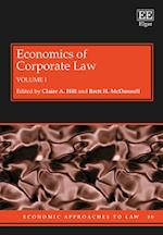 Economics of Corporate Law (Economic Approaches to Law Series, nr. 50)
