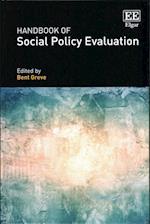 Handbook of Social Policy Evaluation