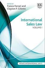 International Sales Law (Private International Law Series, nr. 5)