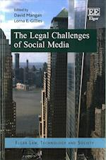 The Legal Challenges of Social Media (Elgar Law Technology and Society Series)