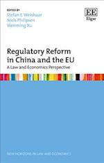 Regulatory Reform in China and the Eu (New Horizons in Law and Economics series)
