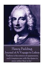 Henry Fielding - Journal of a Voyage to Lisbon
