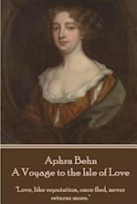 Aphra Behn - A Voyage to the Isle of Love