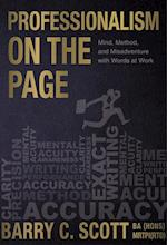 Professonalism on the Page