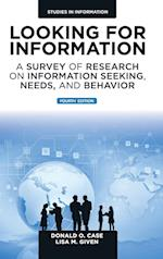 Looking for Information (Studies in Information)