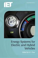 Energy Systems for Electric and Hybrid Vehicles (Transportation)