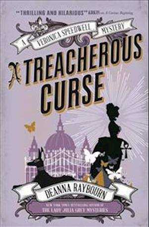 Bog, paperback A Veronica Speedwell Mystery - A Treacherous Curse af Deanna Raybourn