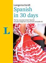 Langenscheidt Spanish In 30 Days (Berlitz in 30 Days)