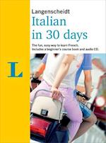 Langenscheidt Italian In 30 Days (Berlitz in 30 Days)