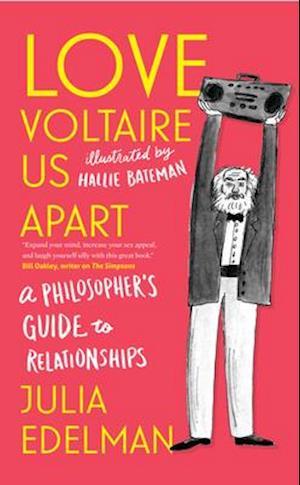 Bog, paperback Love Voltaire Us Apart af Julia Edelman