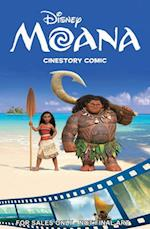 Disney Moana Cinestory Comic