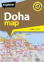 Doha City Map (Explorer City Maps)