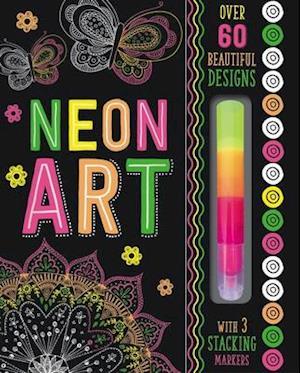 Bog, paperback Art Book Neon Art af Thomas Nelson