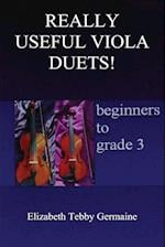 REALLY USEFUL VIOLA DUETS! beginners to grade 3 af Elizabeth Tebby Germaine
