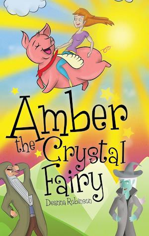 Bog, hardback Amber the Crystal Fairy