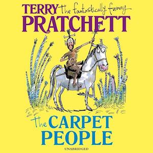 Lydbog, CD The Carpet People af Terry Pratchett