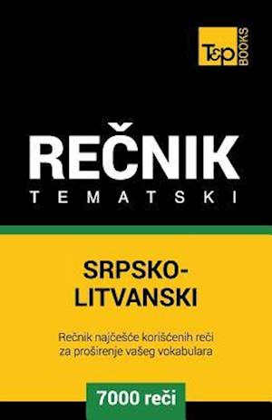 Bog, paperback Srpsko-Litvanski Tematski Recnik - 7000 Korisnih Reci af Andrey Taranov