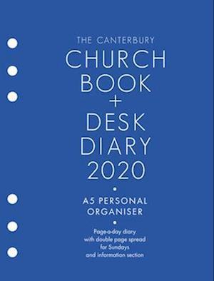 The Canterbury Church Book & Desk Diary 2020 A5 Personal Organiser Edition