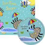 Itsy Bitsy Spider (Classic Books with Holes 8x8 with CD)