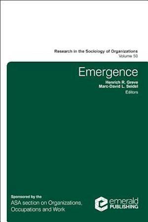Bog, hardback Emergence af Henrich R. Greve
