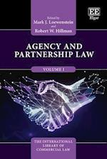 Agency and Partnership Law (The International Library of Commercial Law Series, nr. 1)