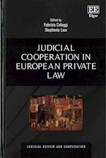 Judicial Cooperation in European Private Law (Judicial Review and Cooperation Series)