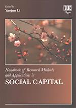 Handbook of Research Methods and Applications in Social Capital (Handbooks of Research Methods and Applications Series)