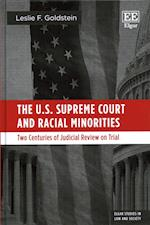 The U.S. Supreme Court and Racial Minorities (Elgar Studies in Law and Society)
