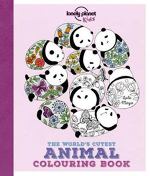 Bog, paperback Lonely Planet the World's Cutest Animal Colouring Book af Lonely Planet Kids