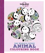 The World's Cutest Animal Colouring Book (Lonely Planet Kids)