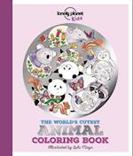 The World's Cutest Animal Coloring Book af Lonely Planet Kids