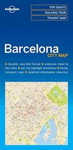 Lonely Planet Barcelona City Map (Travel Guide)
