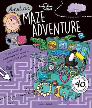 Bog, paperback Amelia's Maze Adventure af Lonely Planet Kids