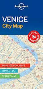 Lonely Planet Venice City Map (Travel Guide)