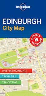 Lonely Planet Edinburgh City Map (Travel Guide)