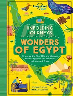 Bog, paperback Unfolding Journeys Wonders of Egypt af Lonely Planet Kids