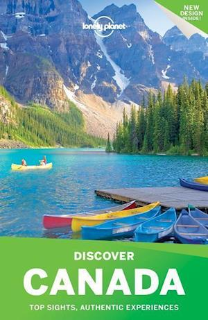Bog, paperback Lonely Planet Discover Canada af Lonely Planet Publications