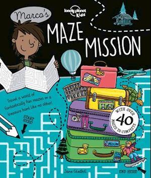 Bog, paperback Marco's Maze Mission af Lonely Planet Kids