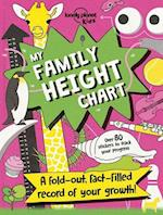 My Family Height Chart [AU/UK] (Lonely Planet Kids)