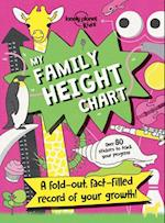 My Family Height Chart (Lonely Planet Kids)