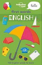 First Words - English (Lonely Planet Kids)