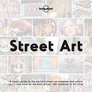Bog, hardback Street Art af Lonely Planet