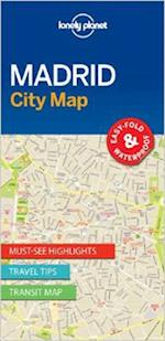 Madrid City Map (Lonely Planet City Map)