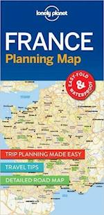 Lonely Planet Planning Map: France (1st ed. June 17) (Lonely Planet Planning Maps)