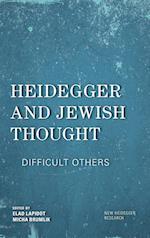 Heidegger and Jewish Thought (New Heidegger Research)
