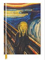 The Scream Blank Sketch Book (Luxury Sketch Books)