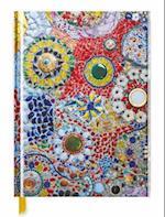 Gaudi-Inspired Mosaic Tile Blank Sketch Book (Luxury Sketch Books)