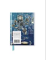 Circuit Board Blue Password Book (Flame Tree Pocket Books)