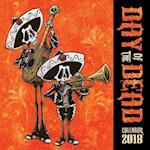 Day of the Dead Wall Calendar 2018 (Art Calendar)
