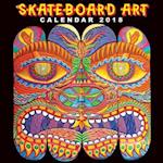 Skateboard Art Wall Calendar 2018